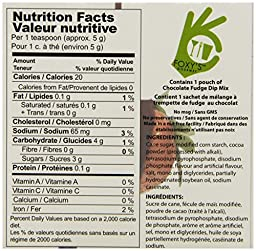Foxy Gourmet Chocolate Fudge Dip Mix, 3.17-Ounce Boxes (Pack of 4)