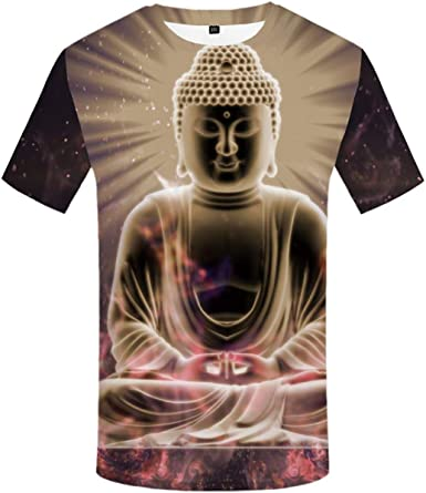 FLAMENCO_STORE 3D T-Shirt Men T-Shirts Flame Anime Clothes Tshirt Printed Short Sleeve: Amazon.es: Ropa y accesorios