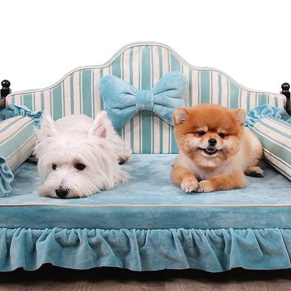 Cama perro Ropa de Cama elevada para Mascotas, Animales pequeños, Cama ortopédica Indestructible para Mascotas, portátil de Viaje al Aire Libre, ...
