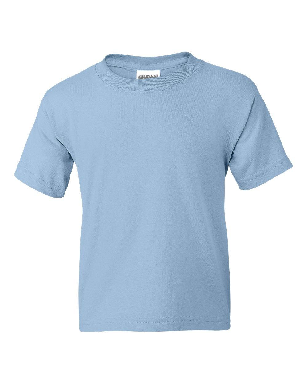Gildan DryBlend 50/50 Youth T-Shirt, Light Blue, Small