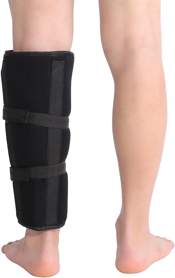 1 pieza de soporte de pantorrilla de vástago, vendaje de pantorrilla, correa de abrazadera, tibia y órtesis, fractura, ortesis, fijación externa, vendaje de fijación externa