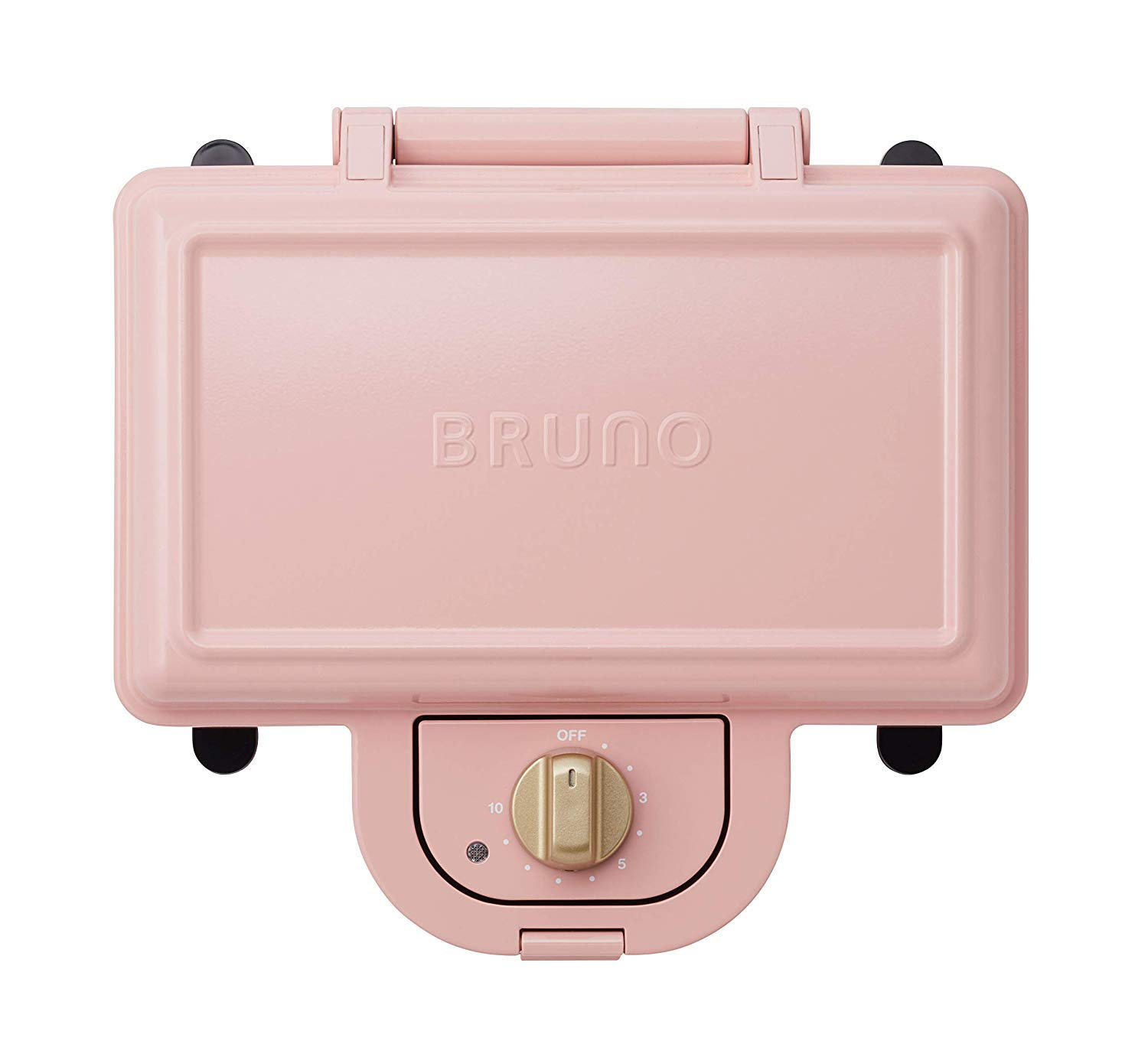 BRUNO Hot Sand Maker Double (Pale Pink) BOE044-PPK【Japan Domestic genuine products】【Ships from JAPAN】