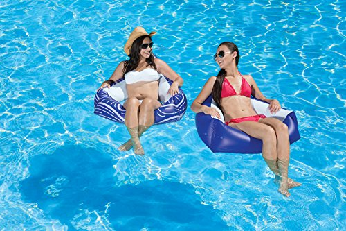 Poolmaster Catalina Chair Swimming Pool Float, 2 Pack