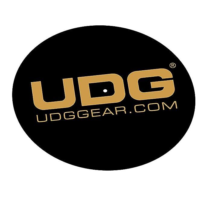 Amazon.com: UDG – Slipmat para plato Set Negro/Oro: Musical ...
