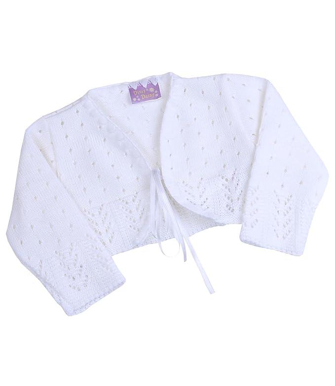 dc78f6234 Amazon.com  BabyPrem Baby Cardigan Bolero Girls Clothes White Pink ...