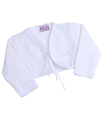 e529c9f15 Babyprem Baby Cardigan Bolero Girls Clothes White Pink Knitted 0-24 ...