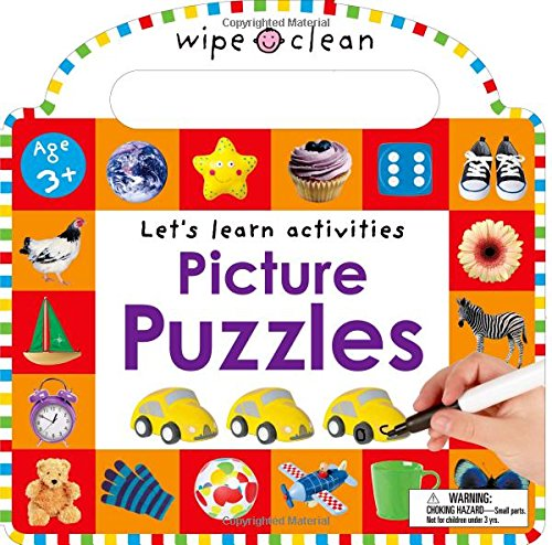 Wipe Clean: Picture Puzzles: Lets Learn Activities