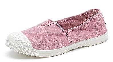 newest f8baa 53d10 Natural World Eco 106E Scarpe Sneakers Ecologico Vegan per Donna, Trendy,  in Tela, Mocassini Ballerine Sneakers Ultimo Modello Slavato Molti Colori