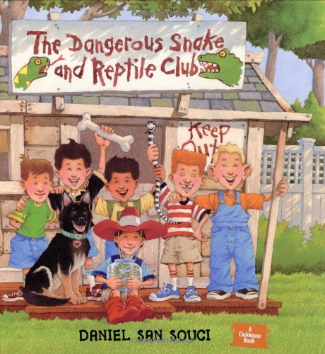 Download The Dangerous Snake & Reptile Club pdf