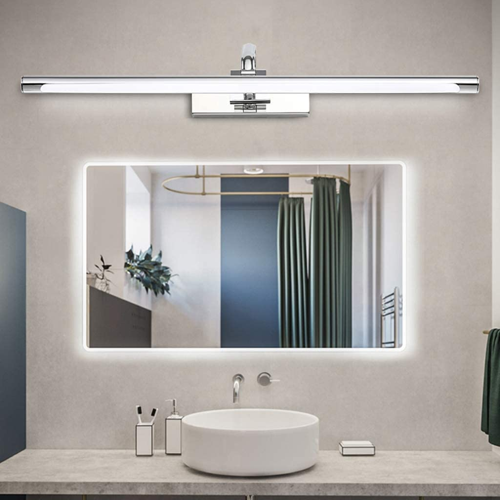 Retrovisor frontal de la lámpara LED Cuarto de baño moderno ...
