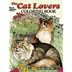 The Cat Lovers Coloring Book (Dover Nature Coloring Book)