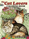 img - for The Cat Lovers Coloring Book (Dover Nature Coloring Book) book / textbook / text book