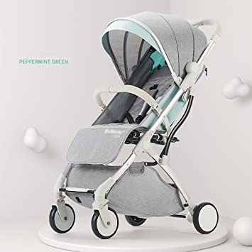 LinY W Carrito de bebé Plegable, Convertible, Portátil, Cochecito de bebé, Carrito