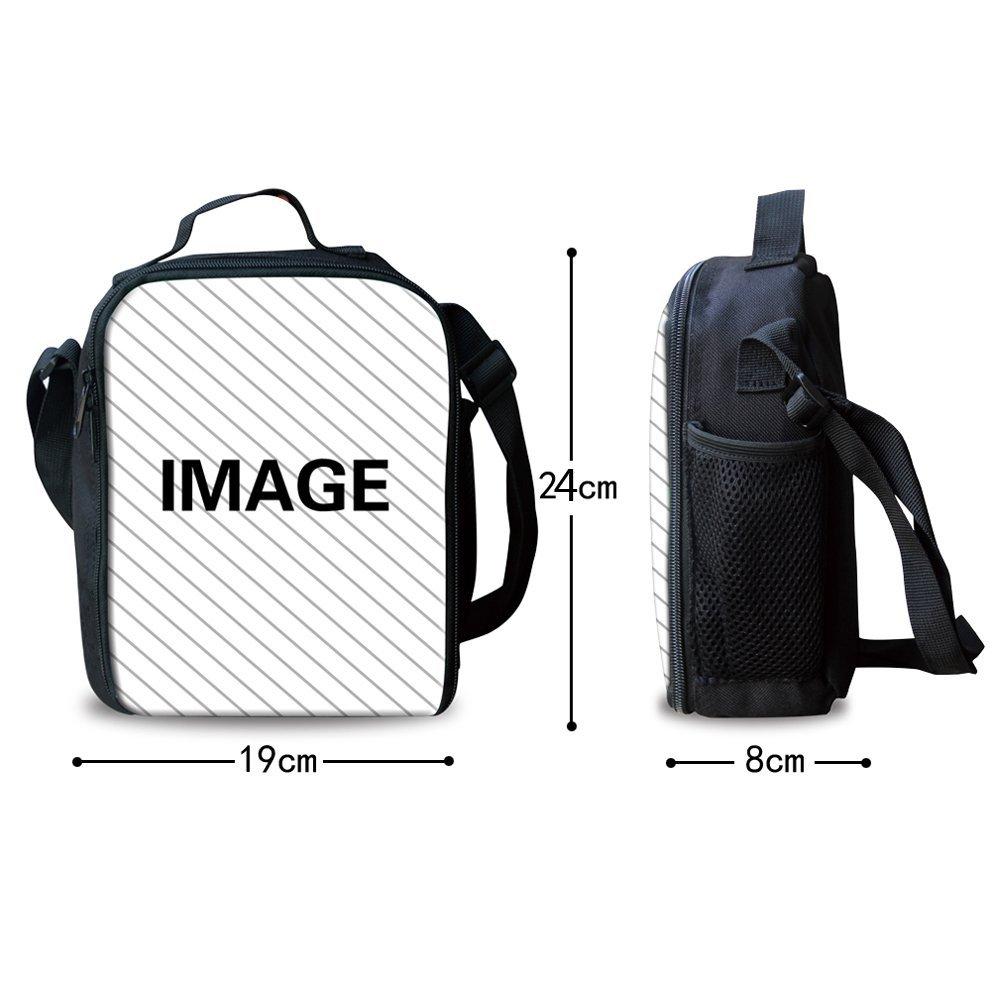 HUGS IDEA 3D Shark Backpack Set Boys Blue School Book Bag Lunch Bags Pencil Case 3 in 1 by HUGS IDEA (Image #3)
