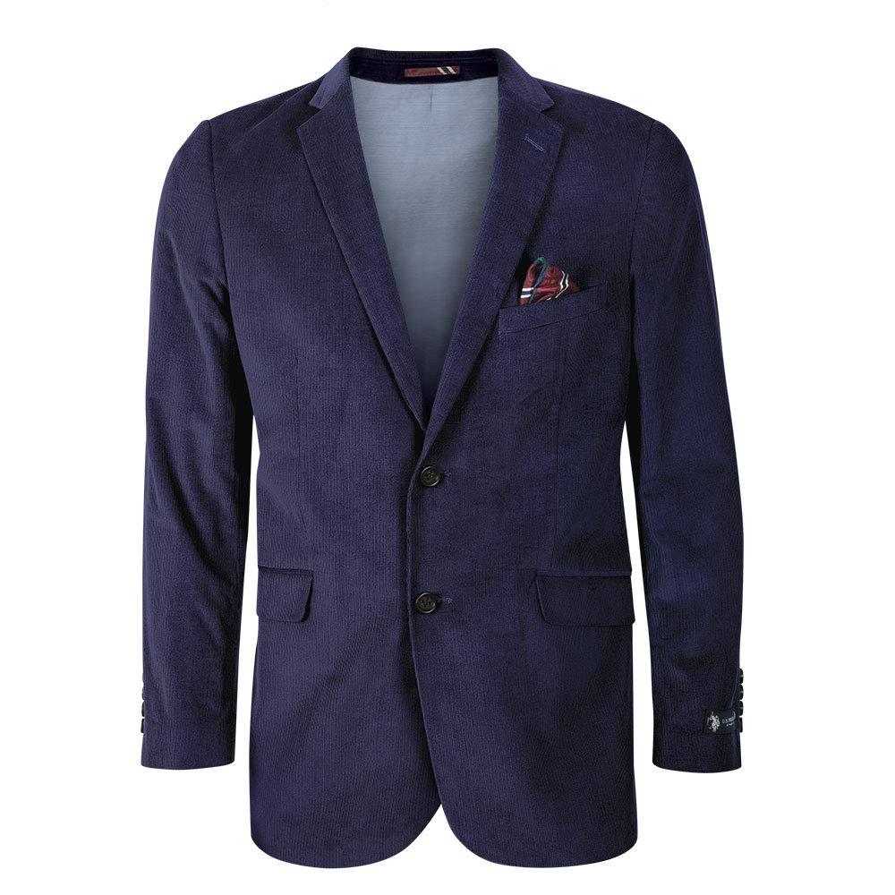 Mens Corduroy Casual Sport Coat Jacket Polo Assn U.S