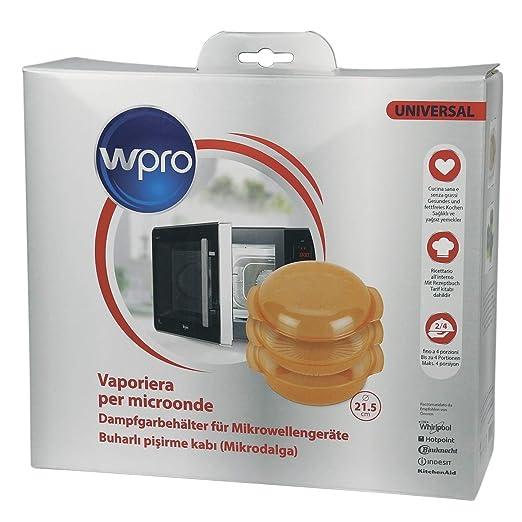 Whirlpool STM006 - Vaporera Redonda para microondas de color ...