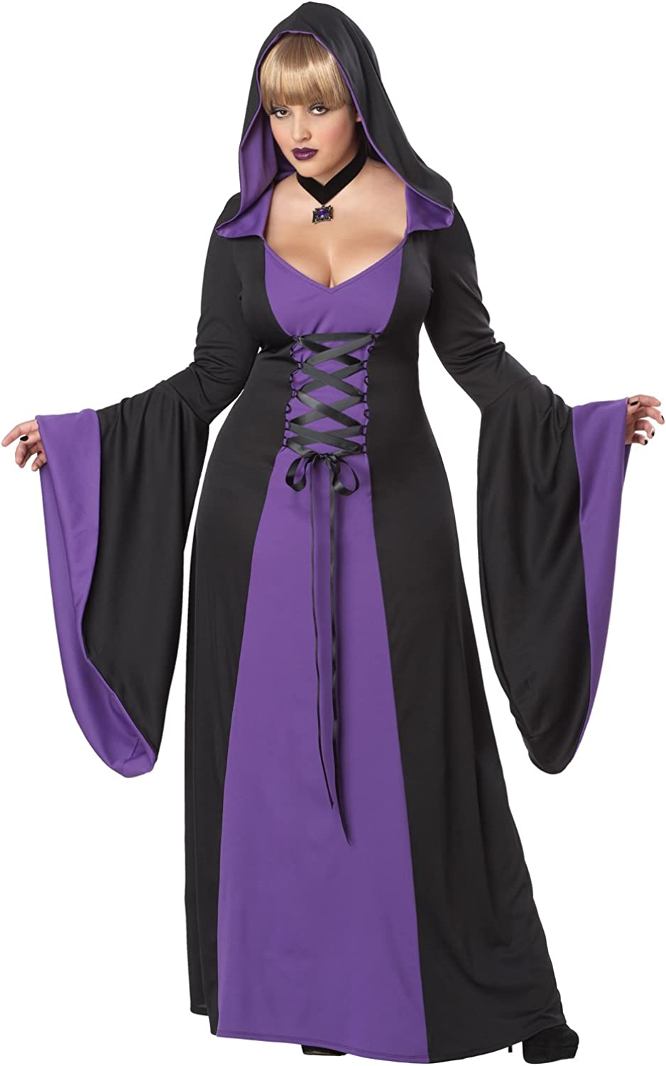 California Costumes Women's Size Deluxe Hooded Robe/Plus