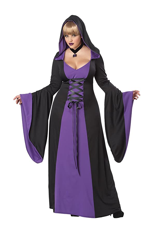 Amazon.com California Costumes Plus-Size Deluxe Hooded Robe Costume Clothing  sc 1 st  Amazon.com & Amazon.com: California Costumes Plus-Size Deluxe Hooded Robe Costume ...