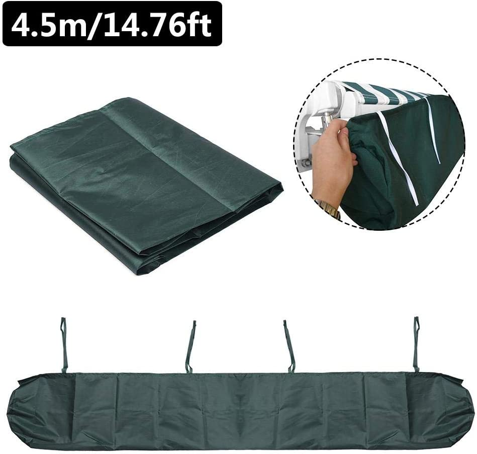 Luckycyc Patio Awning Storage Bag Awning Cover Sun Protection Dustproof Awning Storage Bag Protective Awning Cover with String for Outdoor Garden Patio