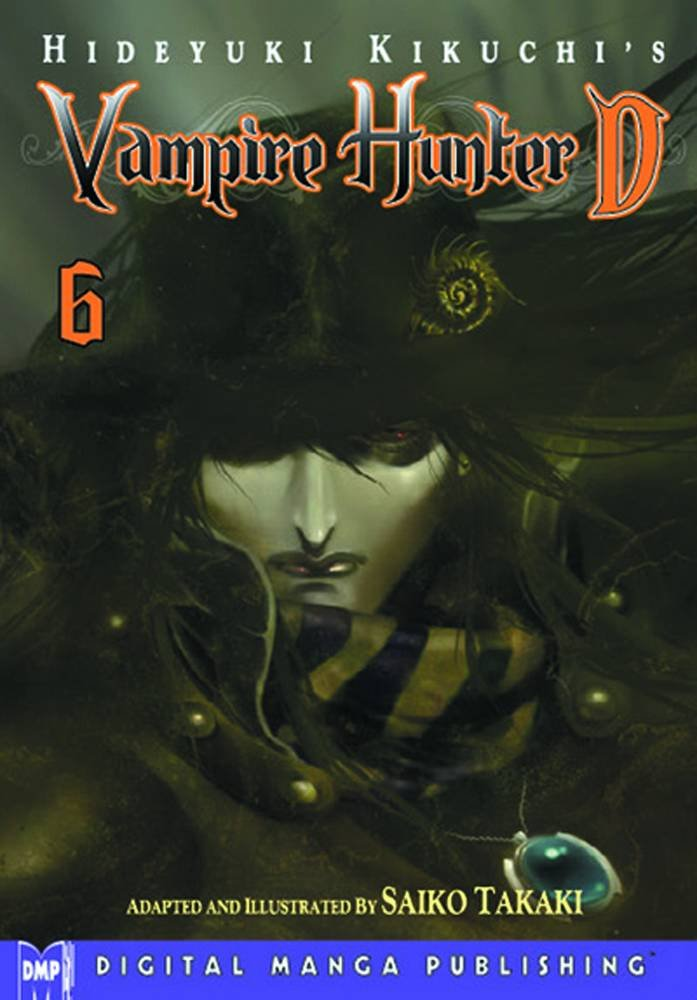 Hideyuki Kikuchis Vampire Hunter Graphic product image