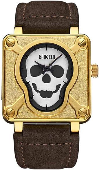 reloj hombre juvenil cuadrado piel