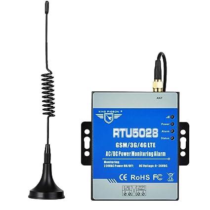 Amazon.com : Power Failure Alarm with SMS Alert Siren Sound ...