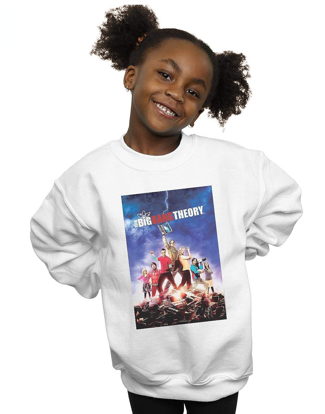 The Big Bang Theory Girls Character Poster Sweatshirt