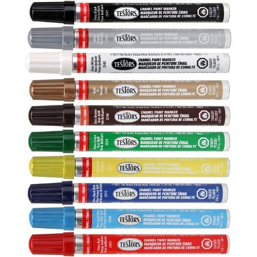testors-enamel-paint-markers-10-color-kit