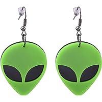 UFO Aliens Acrylic Earrings Jewelry - Multiple Styles