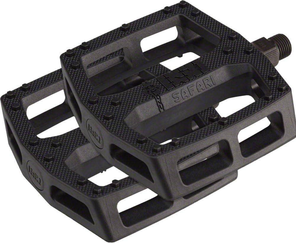 BSD Safari Pedals Black