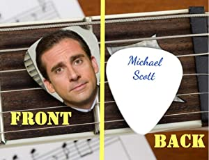 Set of 3 The Office Michael Scott premium Promo Guitar Pick Pic