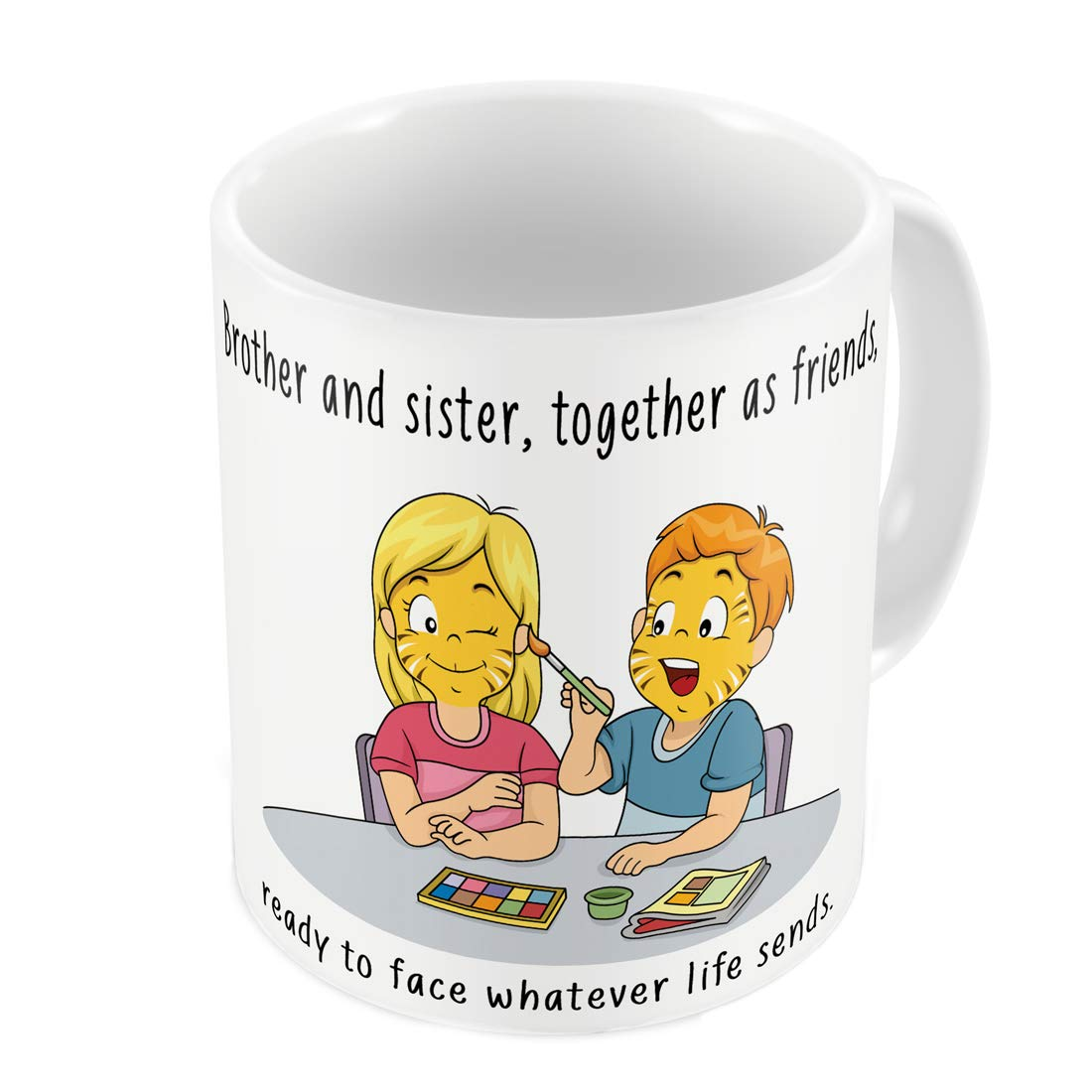 Indi ts Siblings As Best Friends Quote Printed Gift Set