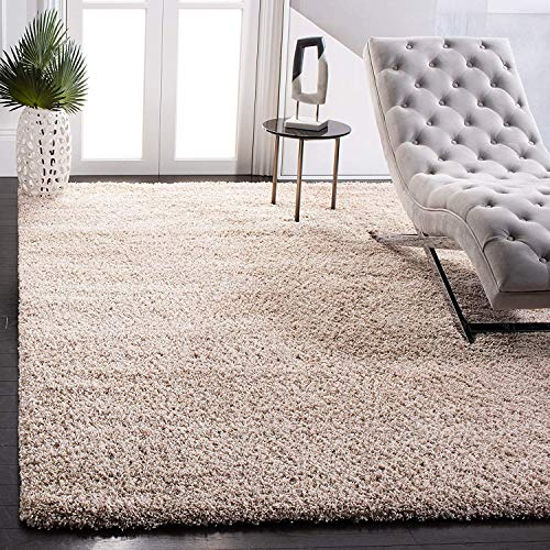 SAFAVIEH California Premium Shag Collection SG151 Non-Shedding Living Room Bedroom Dining Room Entryway Plush 2-inch…