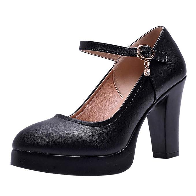 Tacón Elegante Fiesta Y Noche Para Tacones Boda Alto Zapatos Mujer RjA54L