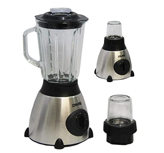 Acero inoxidable batidora con molinillo Smoothie Licuadora Blender ...