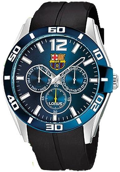 311fecb43a94 Reloj lorus f.c.b.multf.ESF.Azul Mens Analogue Quartz Watch with Rubber  Bracelet RP633BX9