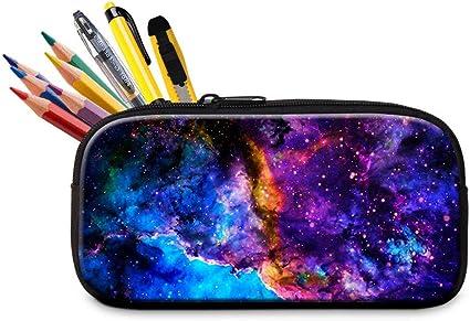 Galaxy Pen Bag Pencil Case Kids School Brush Storage Bag Makeup Bag Zipper Seja