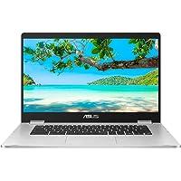 ASUS Chromebook C523NA (Grey) (Intel Celeron N3350, 4 GB RAM, 64 GB eMMC, 15.6 Inch HD Screen, Chrome OS)