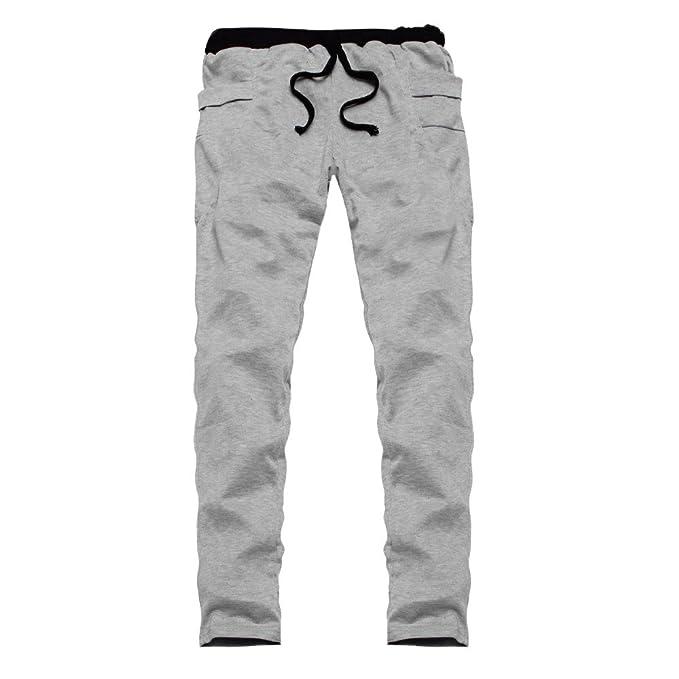 ♚ Pantalones Deportivos Hombre, Jogger Chándal Running Pantalones Deportivos Pantalones Tallas Grandes Pantalones Hombre Chandal Largos Deporte Color ...