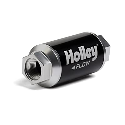 Holley 162-551 Black Billet Finish Fuel Filter: Automotive [5Bkhe1001524]
