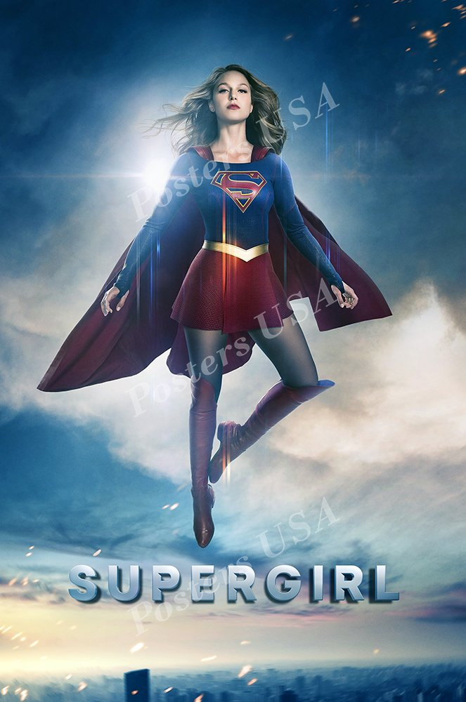 """Posters USA - Supergirl TV Series Show Poster GLOSSY FINISH - TVS345 (16"""" x 24"""" (41cm x 61cm))"""