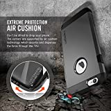 Spigen Tough Armor iPhone 6 Case with Extreme Heavy Duty Protection and Air Cushion Technology for iPhone 6S / iPhone 6 - Smooth Black