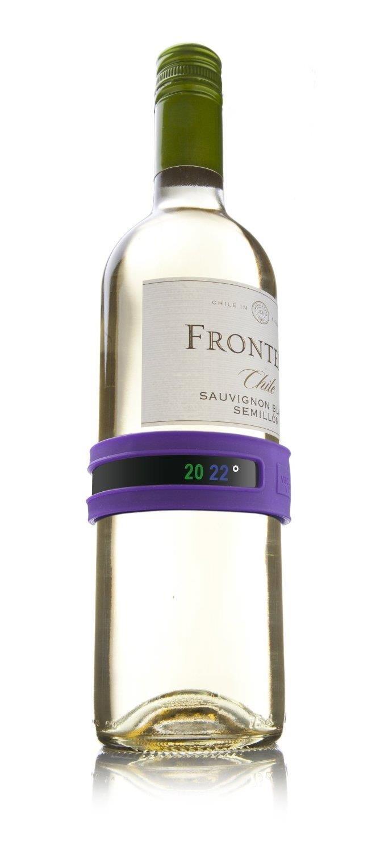 Compra Vacuvin 36308 Snap - Termómetro para vino, color púrpura en Amazon.es