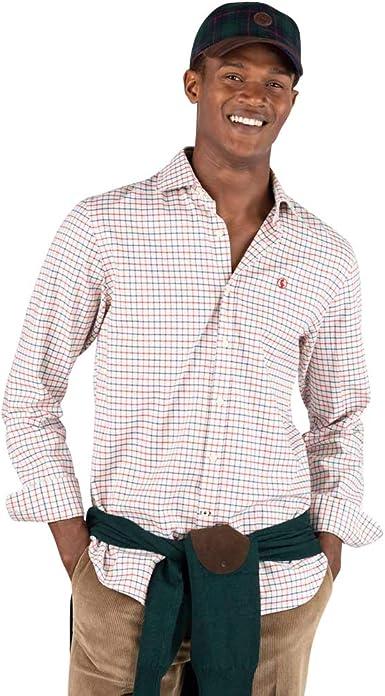 El Ganso Urban Country 1 Camisa casual, Rojo (Rojo 0035 ...