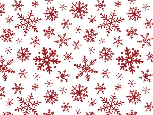 Snowflake Flurry Recycled Tissue 240~20''x30'' Sheets Tissue Prints (240 Sheets) - WRAPS-P1277 by Miller Supply Inc