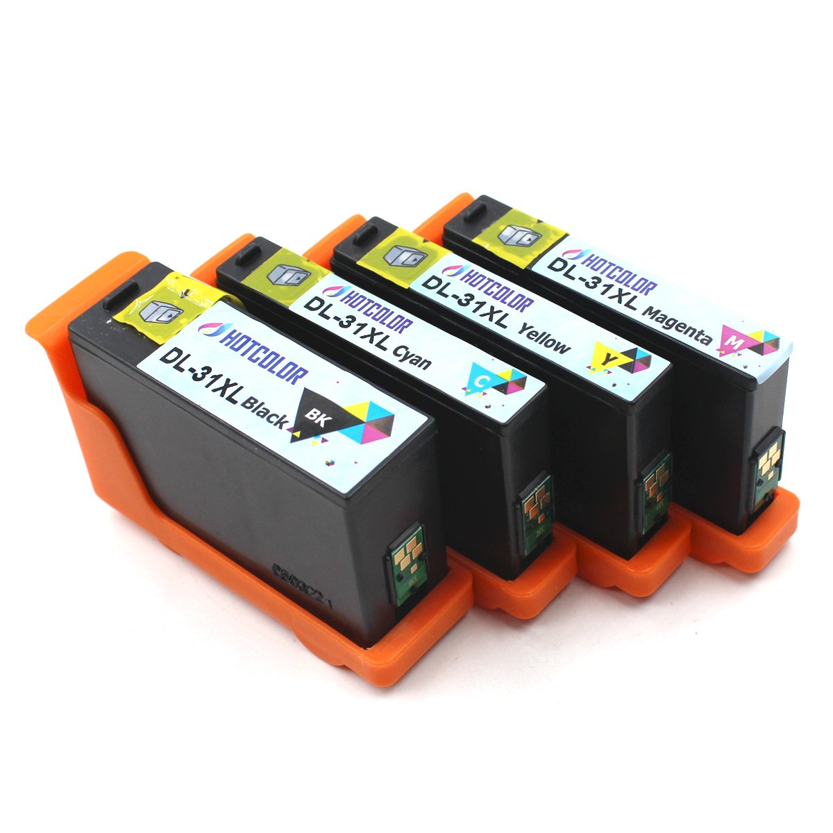 Compatible Dell Serie 31 32 33 34 High Yield Ink Cartridges For Dell V525 V725w