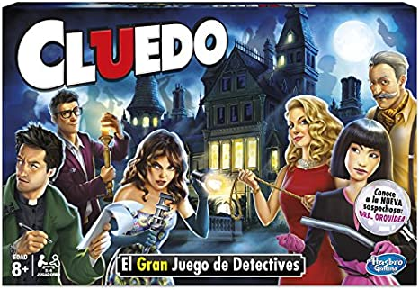 JUEGO CLUEDO THE CLASSIC MYSTERY GAME NUEVA AMBIENTACION: Amazon ...