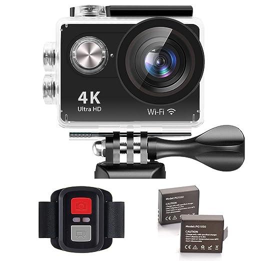 32 opinioni per IXROAD Action Cam 4K Ultra HD WiFi Sport