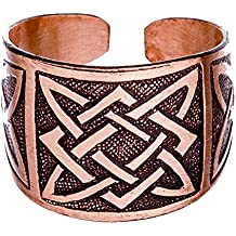 The Svarog's Square Pagan Slavic Сopper Plate Ring Power Ethnic Handcrafted Jewelry Supports Creative People