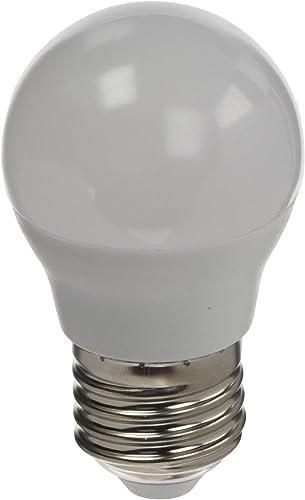 LYO Bombilla esférica LED E27, 5 W, Blanco: Amazon.es: Iluminación
